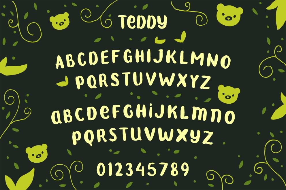 the-bear-font-family-2