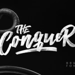 The Conquer Brush Font Free