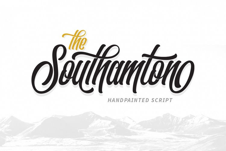 the-southamton-script-font