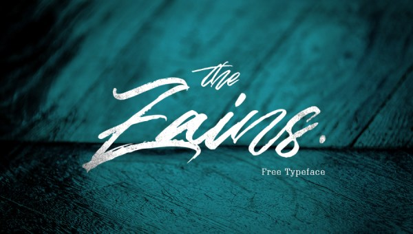 The Zains Typeface Free
