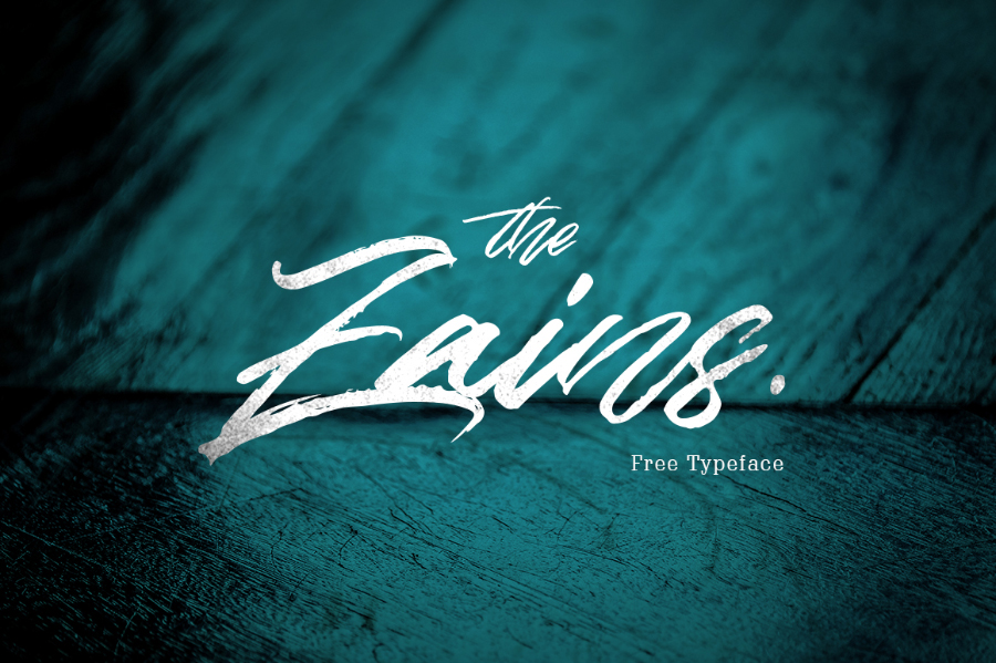 the-zains-free-typeface