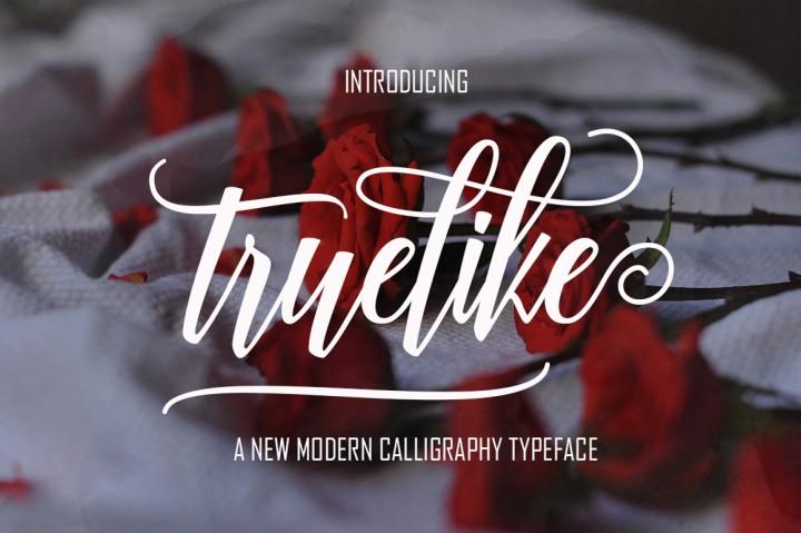 truelike-script-font