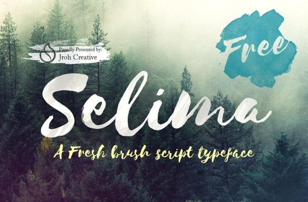 Selima Script Font Free