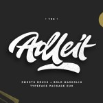 Adleit Script Font Free