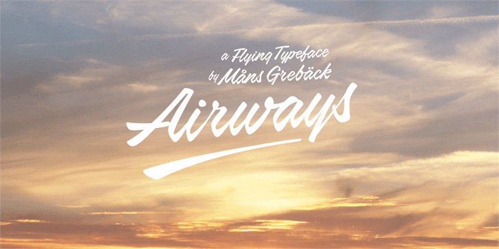 airways-personal-use-only-font