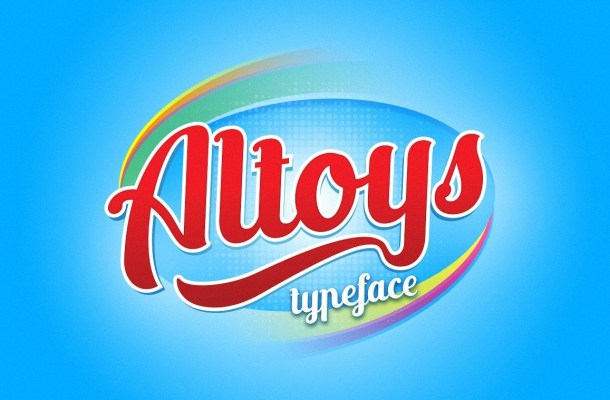 Altoys Script Font Free