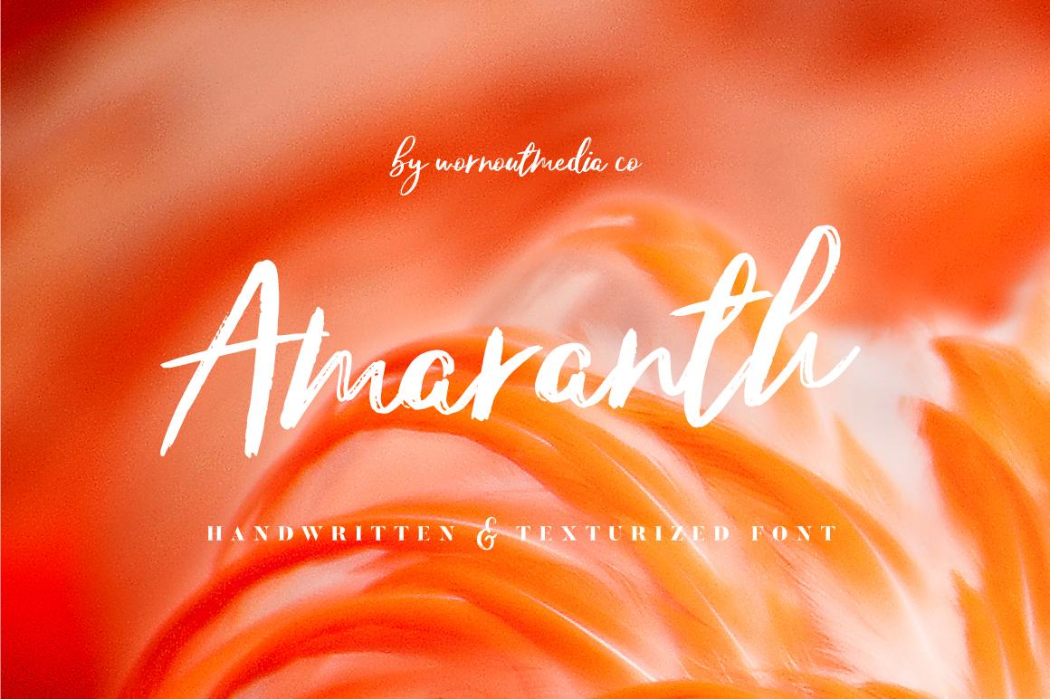 amaranth-trendy-brush-script-font