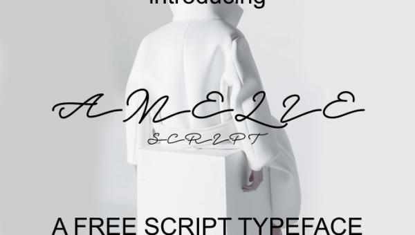 Amelie Script Font Free