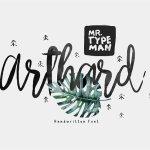 Arthard Script Font Free