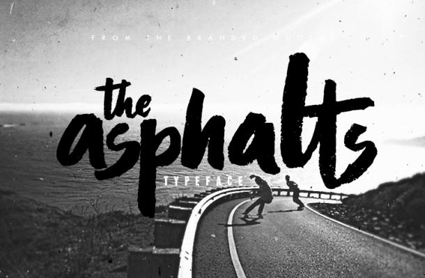 Asphalts Font Free