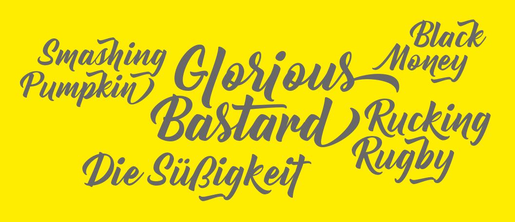 bernadette-rough-font
