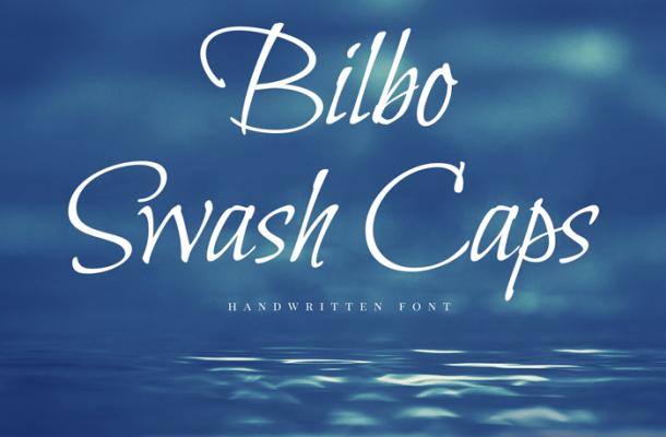Bilbo Calligraphy Font Free