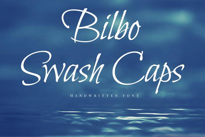 bilbo-script-font
