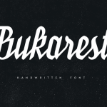 Bukarest Handwriting Font Free