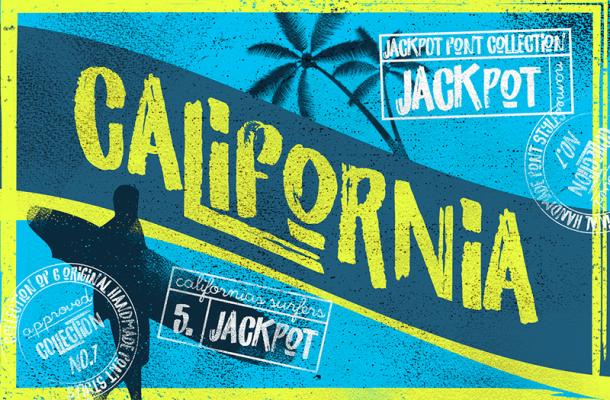 California Brush Font Free