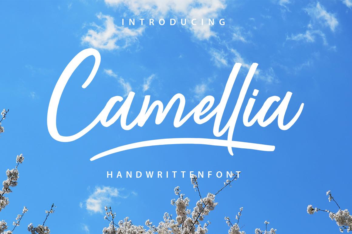 camellia-script-font