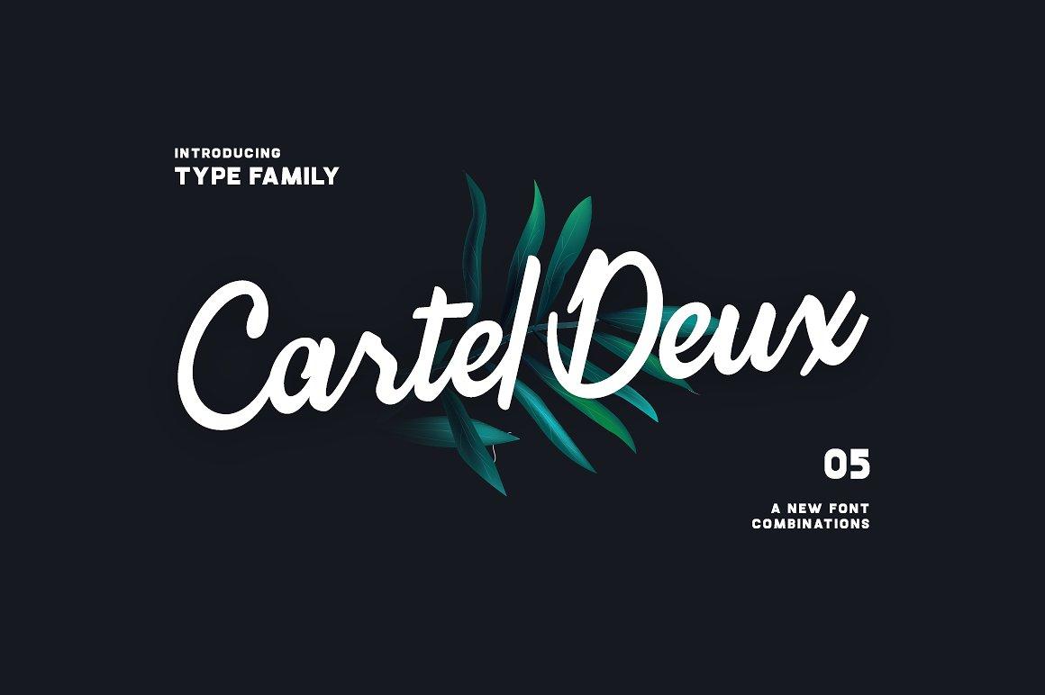 cartel-deux-script-font-family