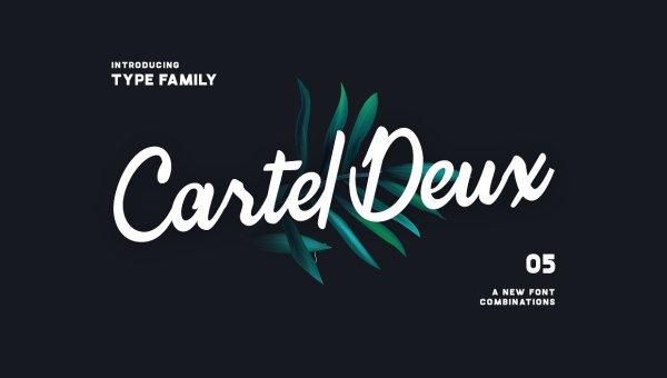 Cartel Deux Script Font Free