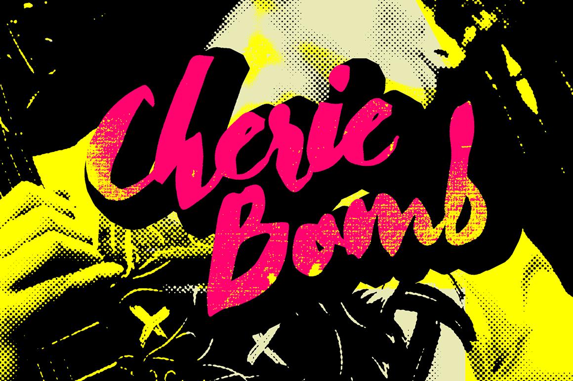 cherie-bomb-font