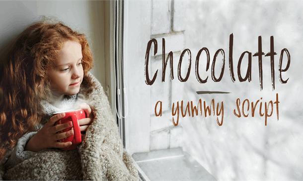DK Chocolatte Font Free