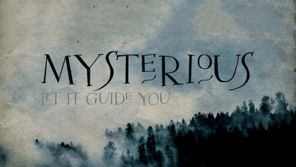 Mysterious Typeface Free