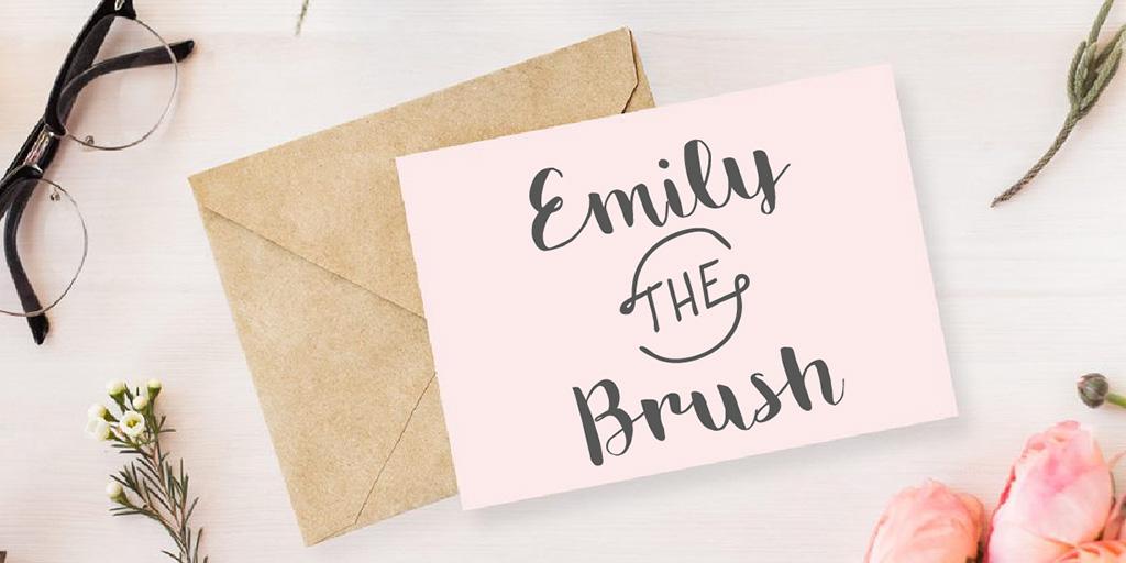 emily-the-brush-font