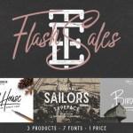 Flash Sales Font Free