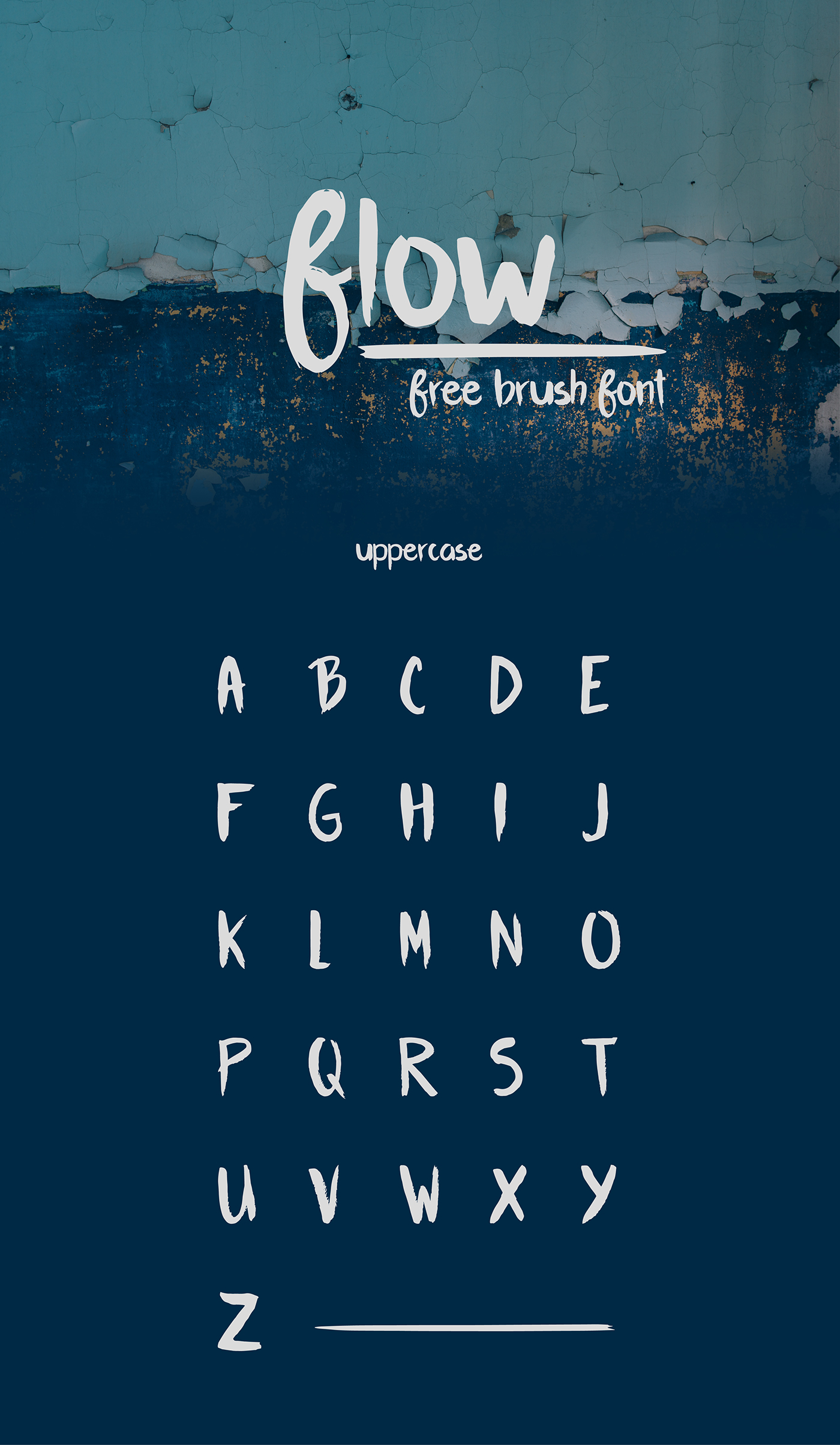 flow-brush-font