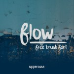 Flow Brush Font Free