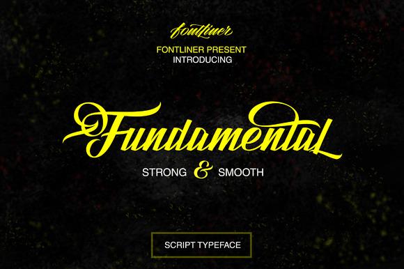 Fundamental Font Free