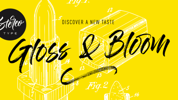 Gloss And Bloom Font Free