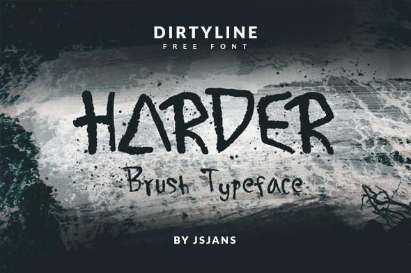 Harder Font Free