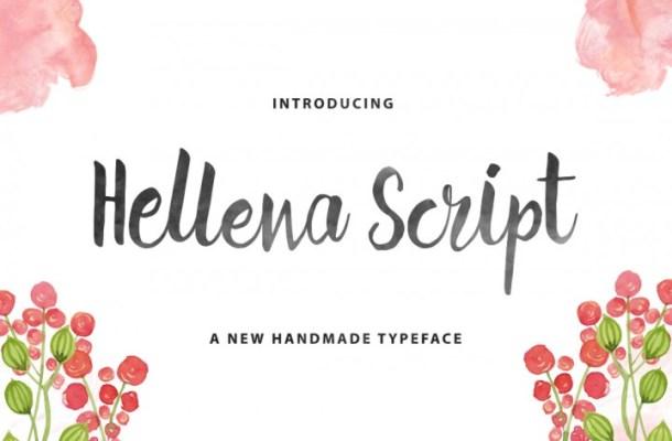 Hellena Script Font Free