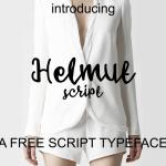 Helmut Script Font Free