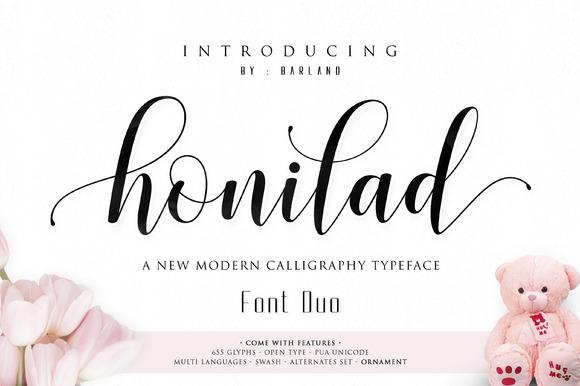 Honilad Script Font Free