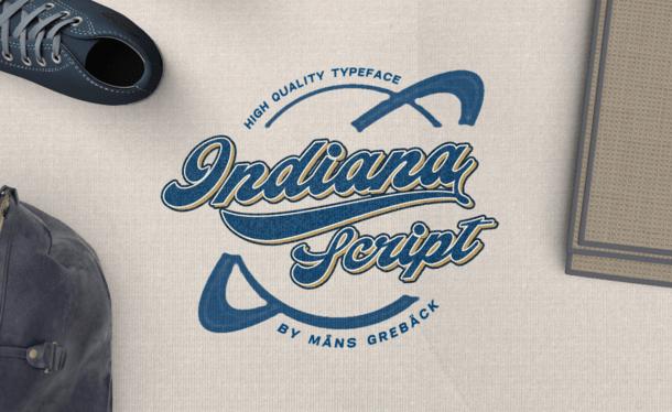 Indiana Script Font Free