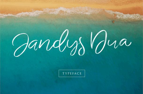 Jandys Typeface Free