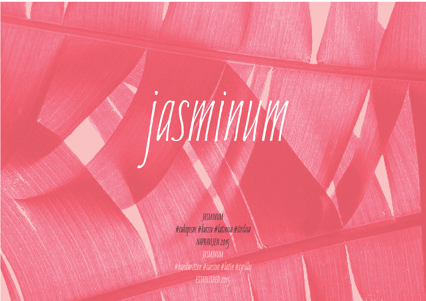 jasminum-handwriting-font