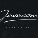 Javacom Script Font Free