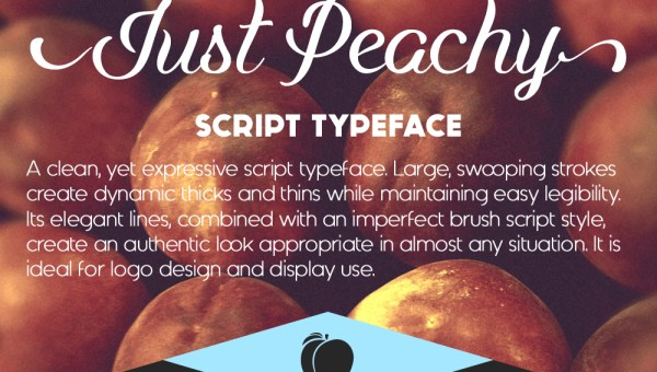 Just Peachy Font Free