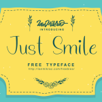 Just Smile Typeface Free