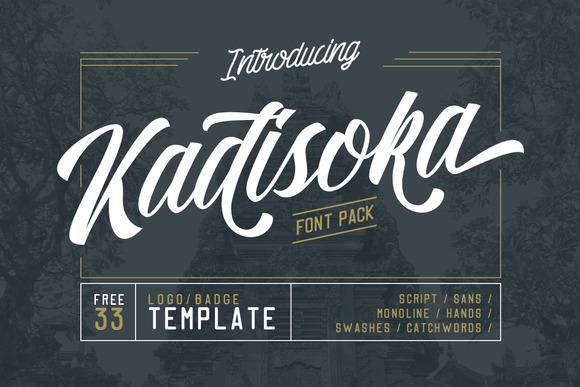 Kadisoka Script Font Free