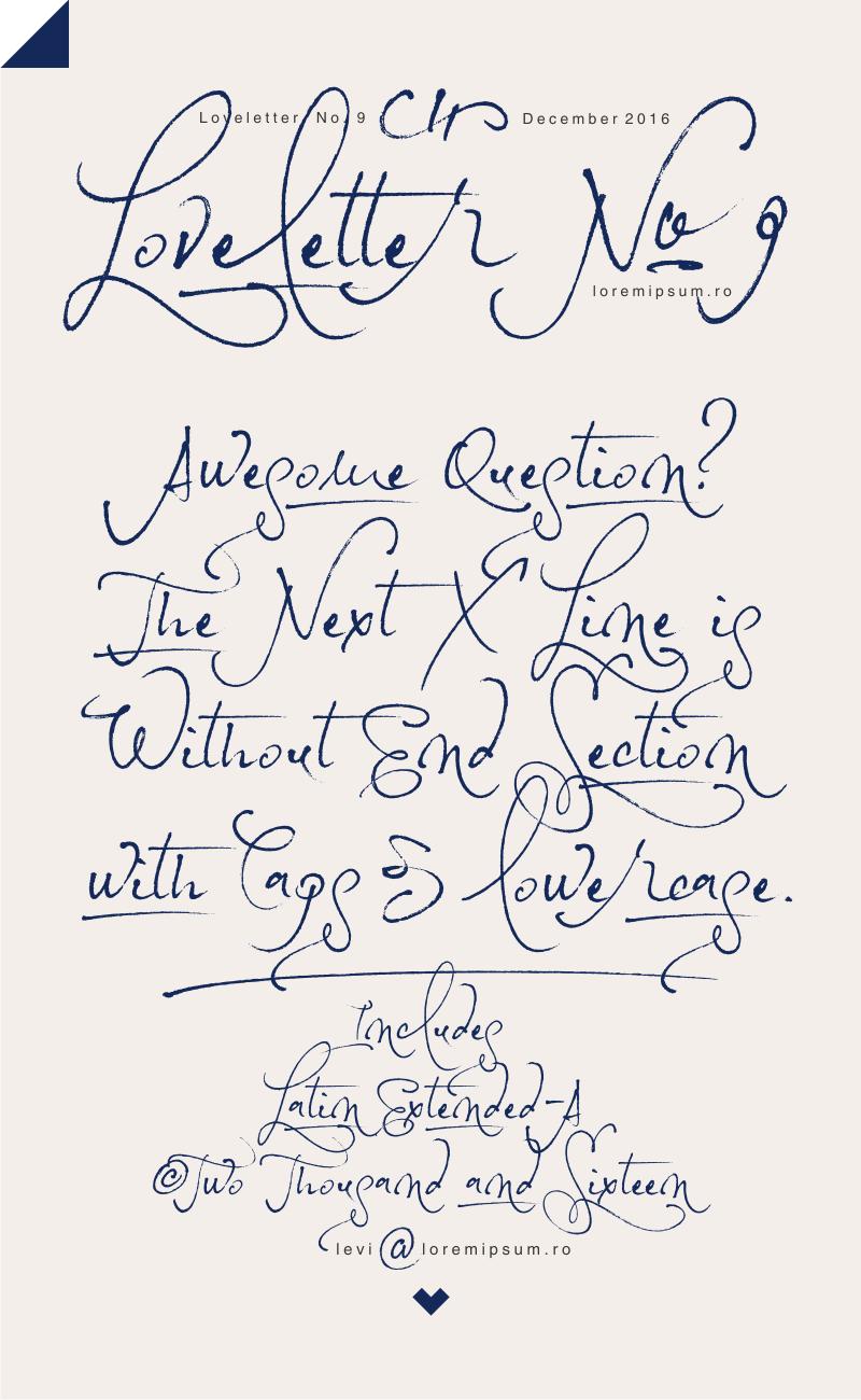 loveletter-no-9-font