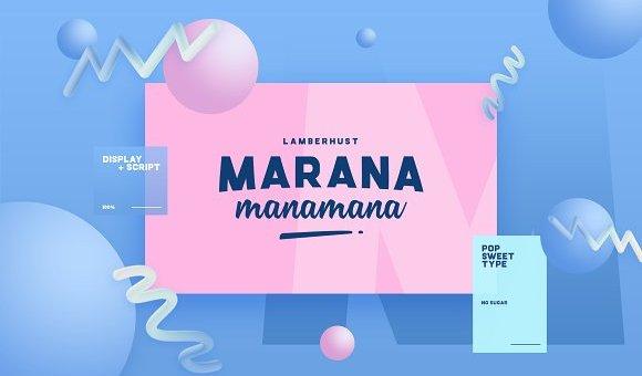 Marana Font Family Free