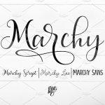 Marchy Script Font Free
