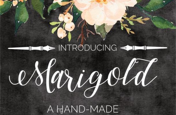 Marigold Font Free