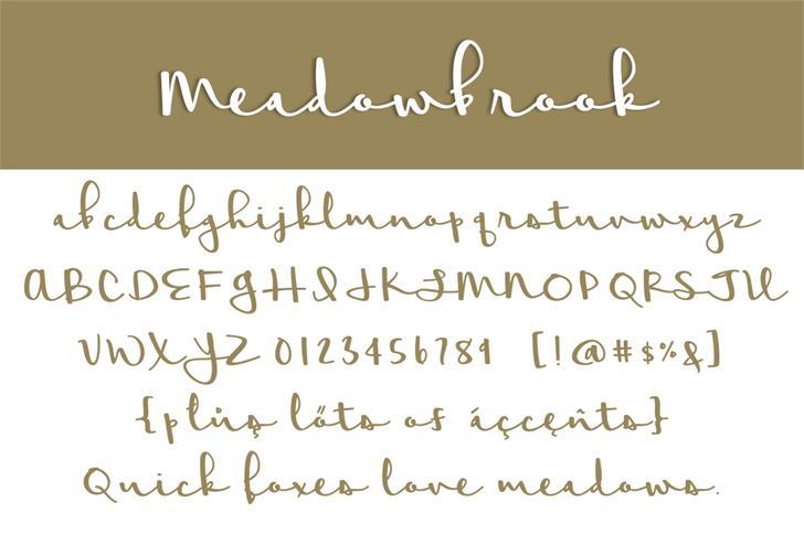 meadowbrook-font-1