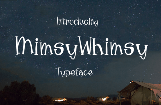 Mimsy Whimsy Typeface Free