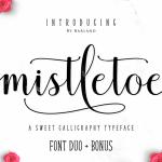 Mistletoe Script Font Free