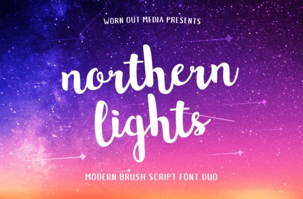 Northern Lights Script Font Free